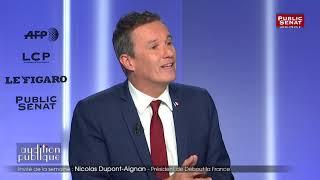 Gilets jaunes : « Monsieur Castaner est un pompier pyromane » déclare Nicolas Dupont-Aignan