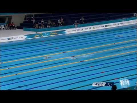 Swimming - LIVE - London 2012 Paralympic Games