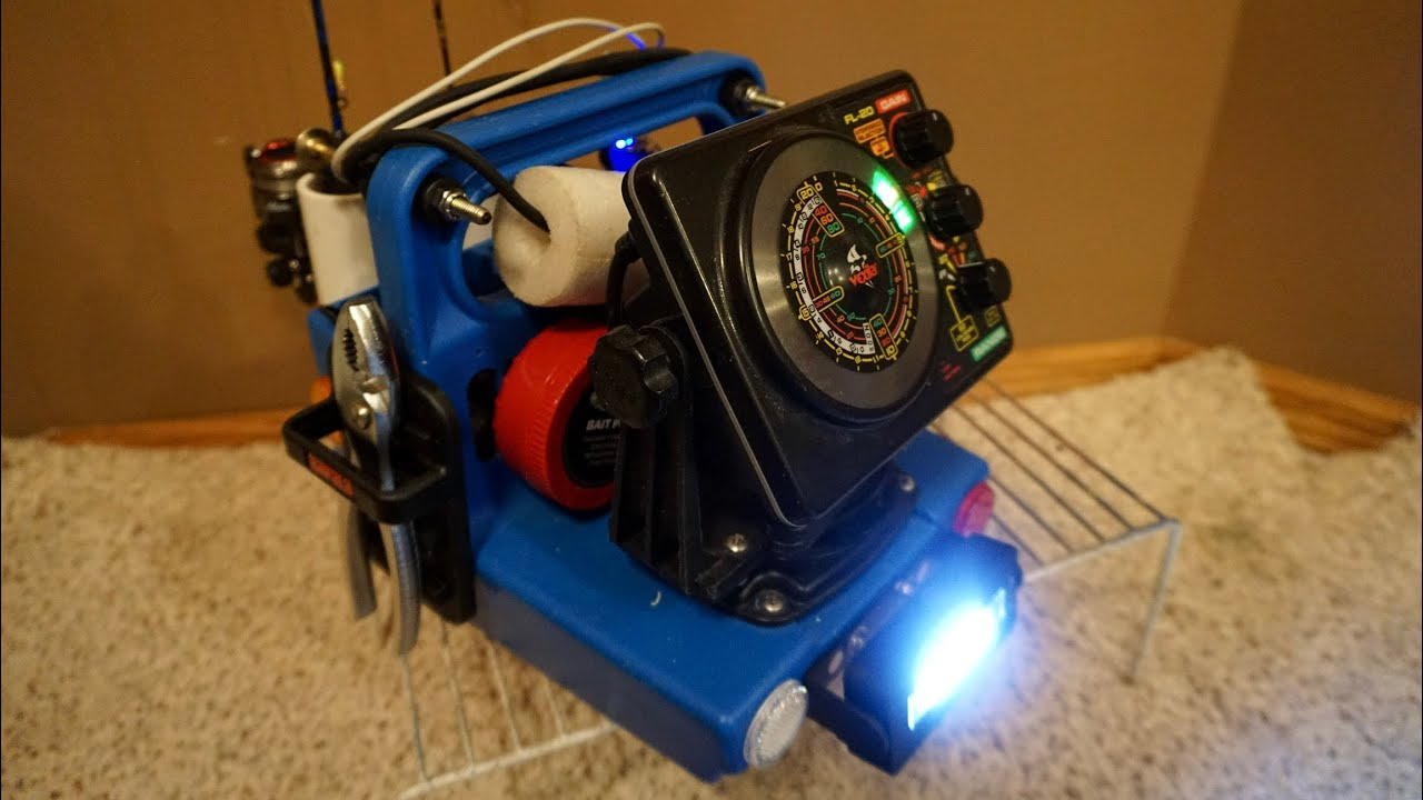 How To Modify The Vexilar Genz Box For Ice Fishing Youtube