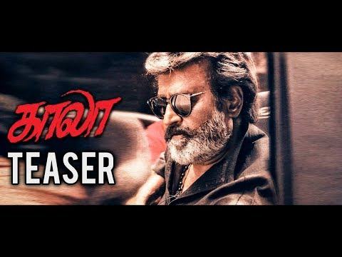 OFFICIAL : Kaala teaser release date | Rajinikanth, Pa. Ranjith | Latest Tamil Cinema News.