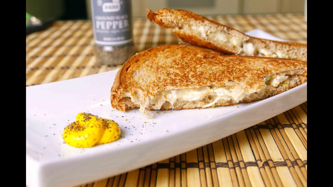 Healthy Grilled Chicken Cheese Sandwich