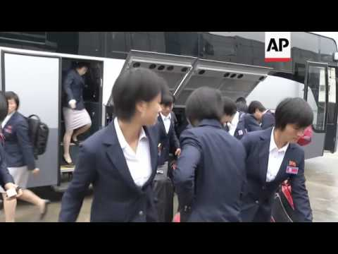 NKorean athletes depart for the London Olympic Games