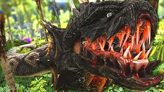 Taming A Snake That Could Eat ANY CREATURE on the Planet! | ARK Survival Evolved: Modded #55