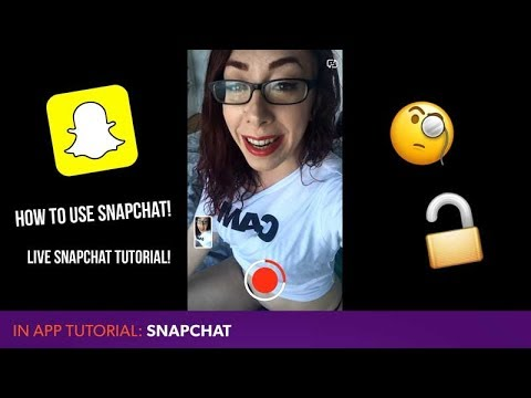 TUTORIAL - How To Use Snapchat! Premium Accounts, Hands-free Snaps, And URLs!