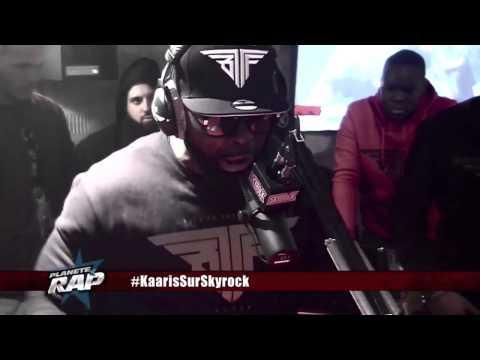 Kaaris en freestyle sur skyrock clash booba