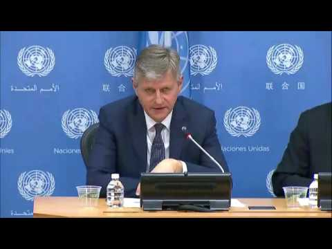 International Day of UN Peacekeepers 2017  - Press Conference