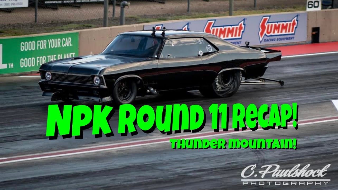 NPK Round 11 Recap From Bandimere Speedway. Thunder Mountain Did Not Disappoint!