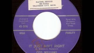 Otis Williams - It Just Ain