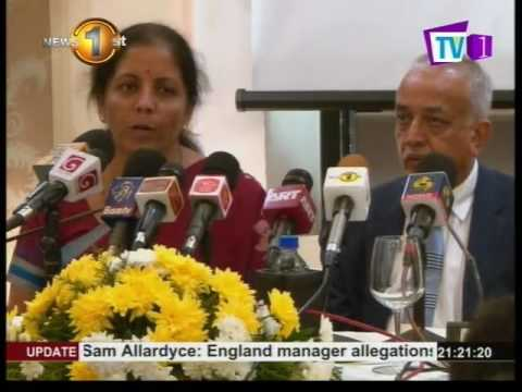 Minister of Commerce and Industry of India: Nirmala Sitharaman addresses the media