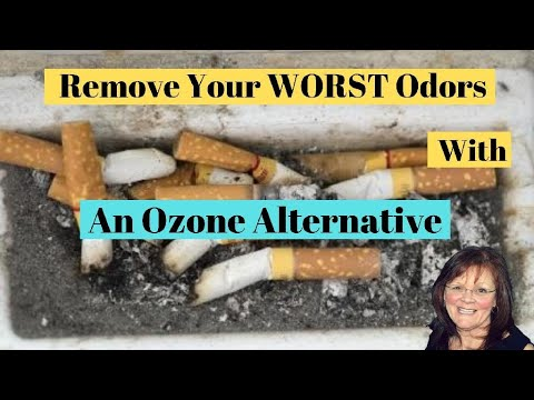 How to Eliminate ALL ODORS with an Ozone Machine Alternative