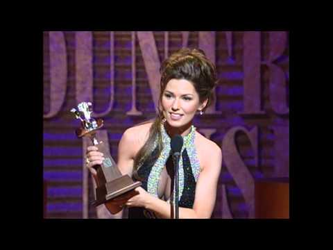 Shania Twain Wins Album of the Year For
