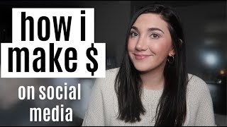 HOW I MAKE MONEY | my 9 streams of income (social media)