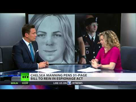 Chelsea Manning rewrites the  Espionage Act