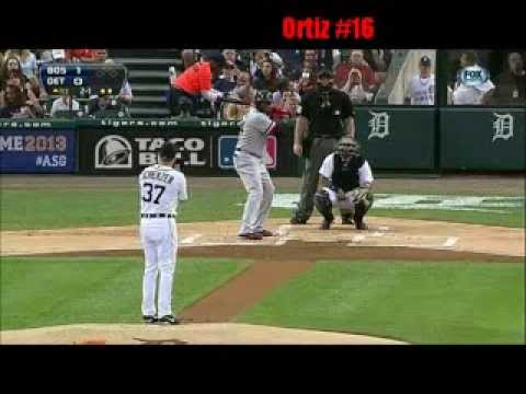 David Ortiz 2013 Home Runs Through 8/4/13