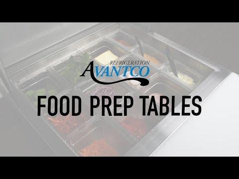 Avantco Food Prep Tables