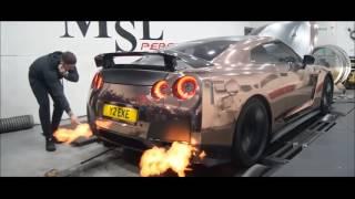 Nissan GT-R R35 | Armytrix Système Echappement VALVETRONIC | moteurs sons & bruit!