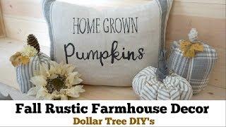 Fall Dollar Tree Diy Decor | Easy Fall Decor Ideas, Fall Diy Decor Challenge | Momma From Scratch