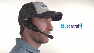 How to use the BlueParrott C400-XT Bluetooth headset