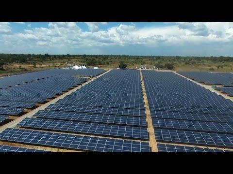Huge solar plant beams power and hope to rural Uganda