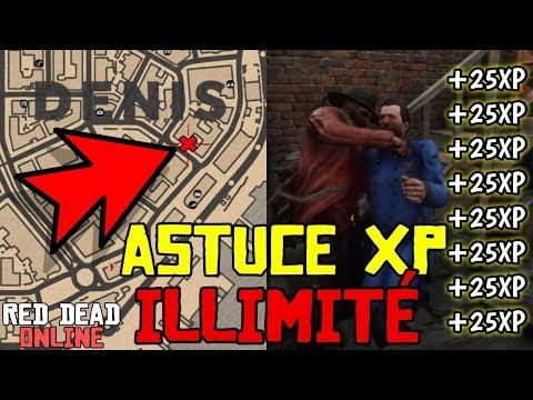 *NEW* ASTUCE XP ILLIMITÉ ARGENT ET MUNITIONS FACILE Red Dead Redemption 2 #ONLINE thumbnail