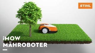 Animation: So funktioniert der iMow Mähroboter