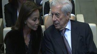 Preysler y Vargas Llosa en el homenaje a Boyer
