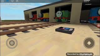 Roblox Thomas o motor do tanque: galpão 17