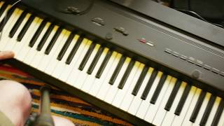 Roland EP7-IIe cheap digital piano review / demo