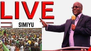 Rais Magufuli Alivyozungumza na Wananchi Leo Simiyu