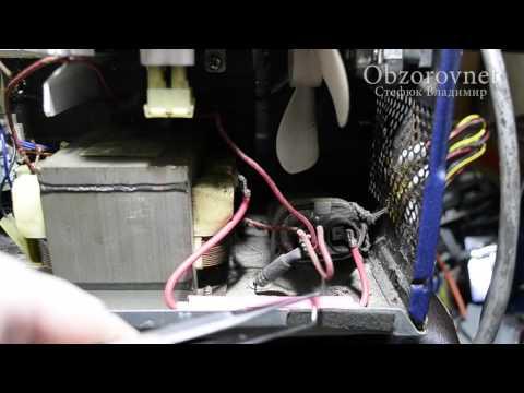 Микроволновая печь SAMSUNG не греет чиним