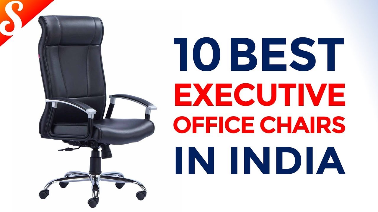 10 Best Executive Office Chairs in India with Price  Ultimate Ergonomic &  Affordable Chairs