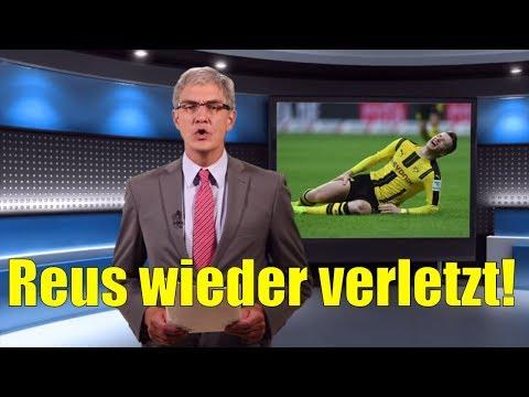 Reus fällt verletzt beim BVB aus! - Sportnachrichten