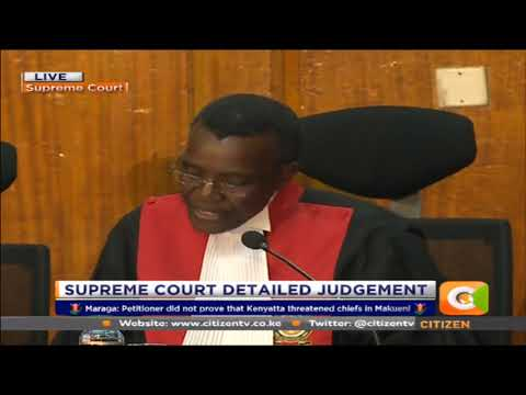 Supreme Court fails to find criminal responsibility on IEBC officials