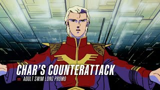 Adult Swim - Char's Counterattack Long Promo
