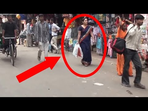"Real Ghost caught on Camera delhi street ""Real Ghost Videos in india"""