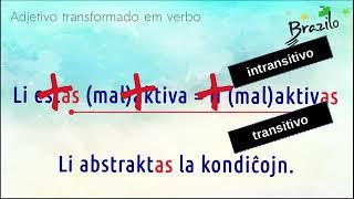 ABSTRAKTA adjetivo em Esperanto