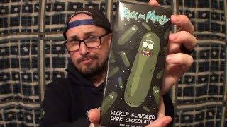Brad Tries Pickle Rick Chocolate
