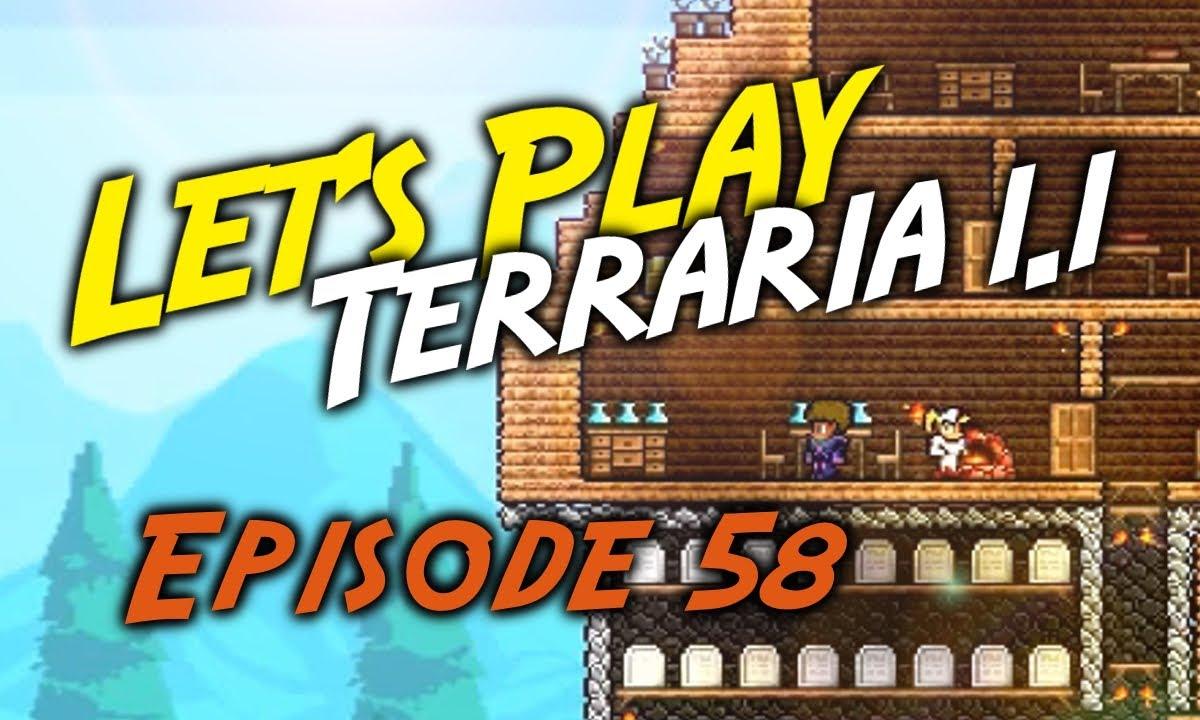 [Episode 58] Terraria - Obsidian Skin!