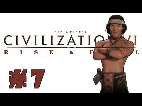 Civilization VI: Rise and Fall! -- MAPUCHE-- Part 7