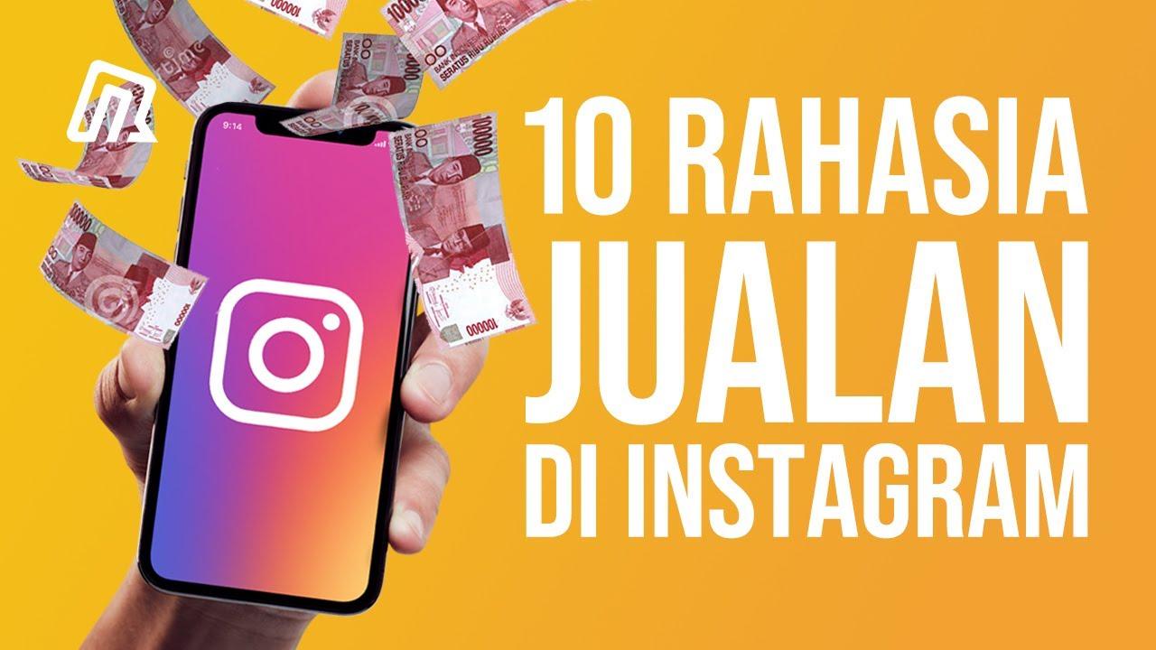Tips Cara Jualan Di Instagram Untung Besar