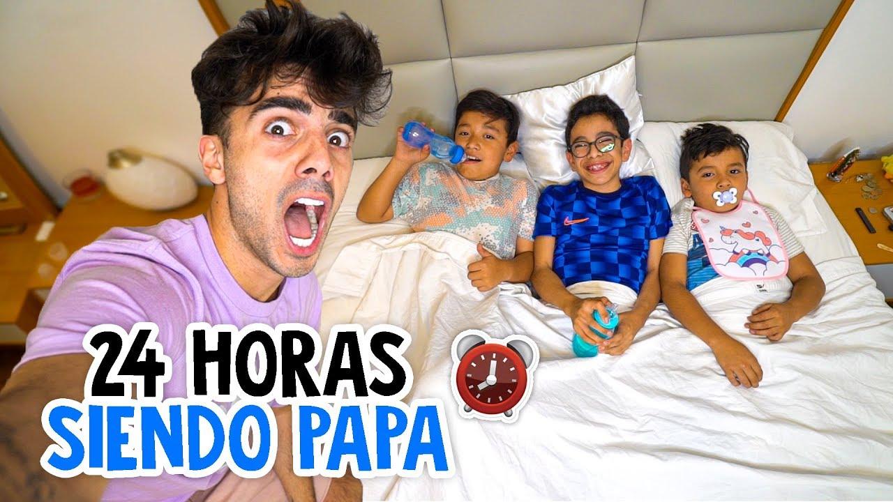 Download 24 HORAS SIENDO PAPA DE MIS VECINOS