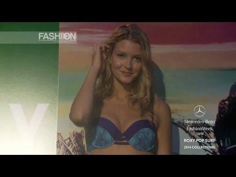 """Fashion Show """"ROXY POP SURF"""" Miami Fashion Week Swimwear Spring Summer 2014 HD by Fashion Channel"""