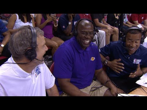 Magic Johnson Not Surprised By Lonzo Ball's Struggling NBA Summer League Debut | ESPN