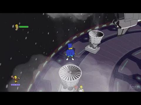 The Simpsons Game Xbox 360 Review - Video Review (HD)