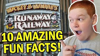 Mickey & Minnie's Runaway Railway | 10 Fun Facts YOU NEED TO KNOW!