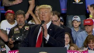 "Trump: Media are a ""disgrace"""