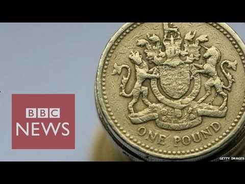 Last Round British Pound Coin Has Been Minted - BBC News
