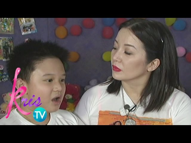Kris TV: Bimby's song for Kris