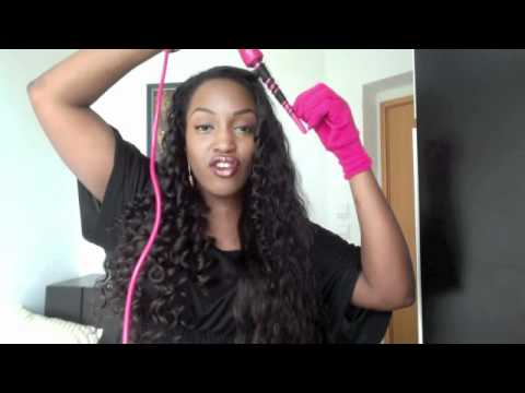 Ringlet Curls With The Amika Wand Youtube