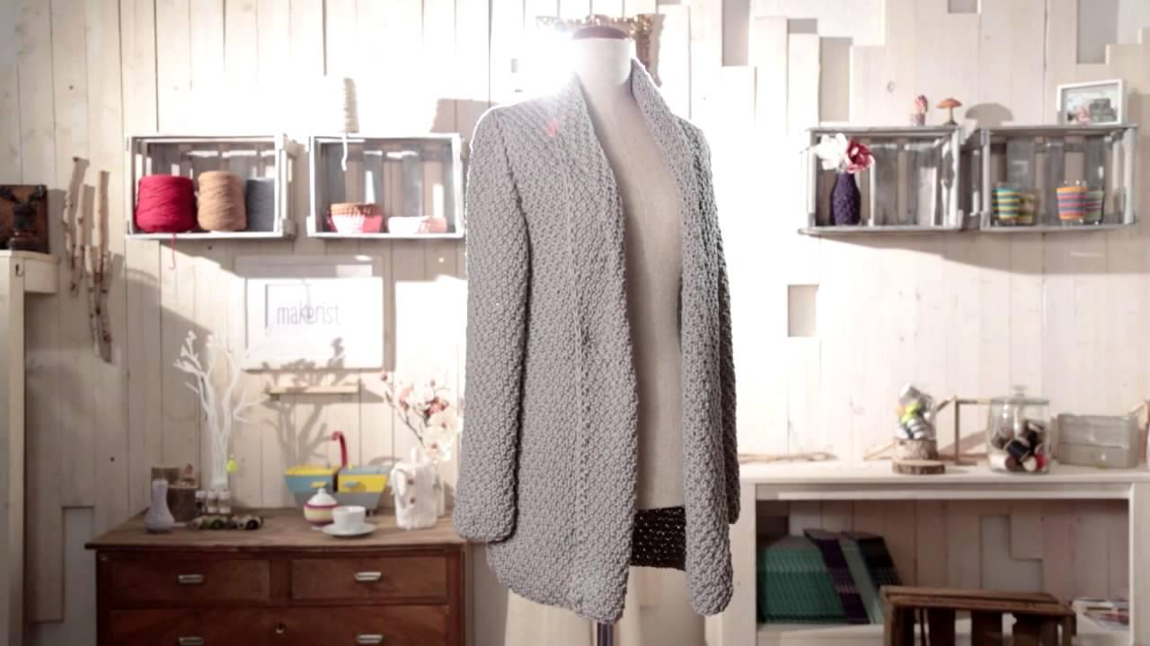 Trailer: Deine erste Strickjacke selber stricken - YouTube